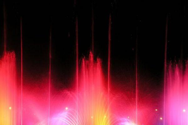 Dominici's Fontane Danzanti e giochi d'acqua - Dimensioni fontana danzante: 18 x 4m