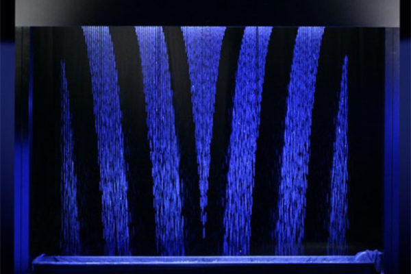 Schermi d'acqua digitali